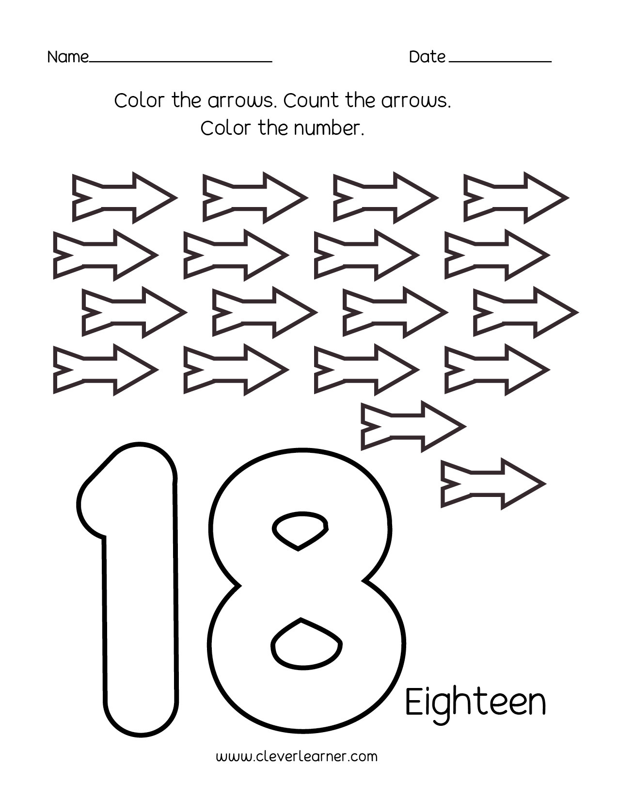 Counting Worksheets Preschool Number Writing Counting and Identification Printable