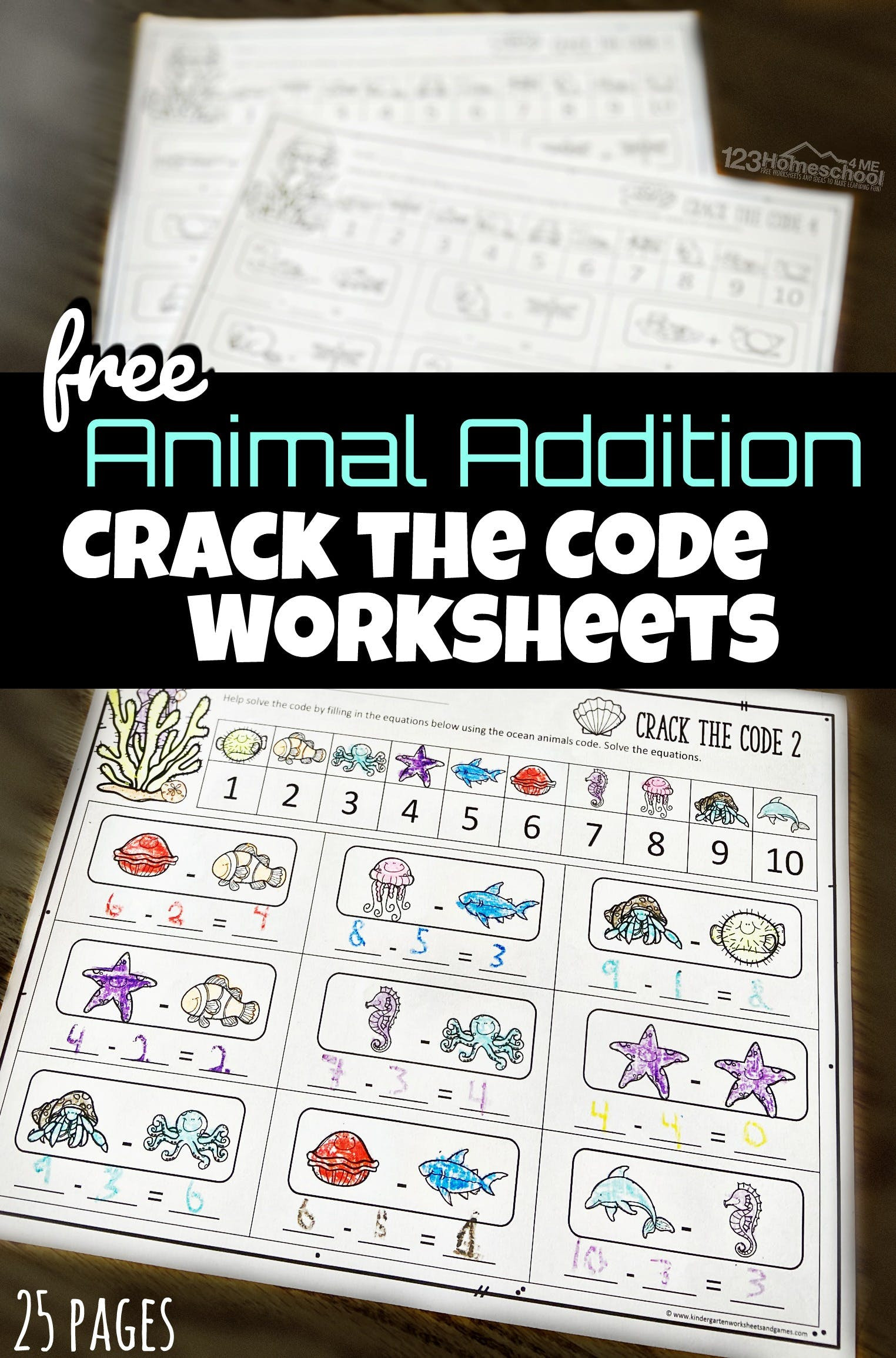 Crack the Code Math Worksheets Crack the Code Math Worksheets