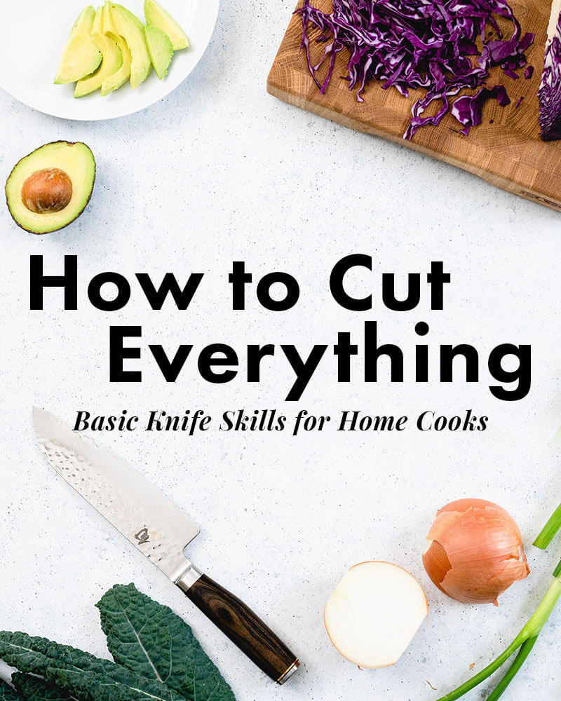 Culinary Knife Skills Worksheet Knife Skills 101 How to Cut Basic Fruits & Ve Ables – A