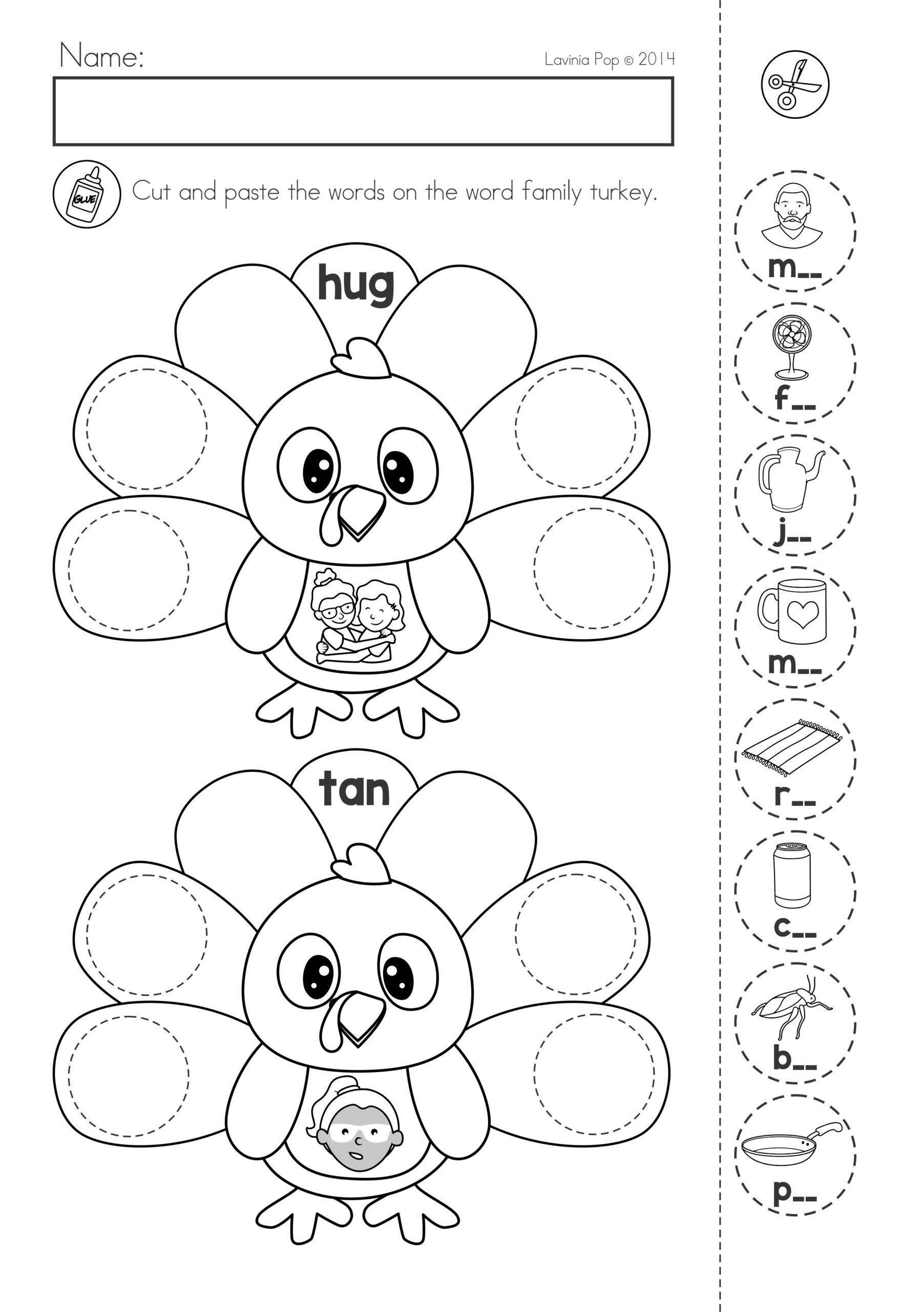 Cut and Paste Math Worksheets Easy Math Tricks First Person and Third Person Worksheets