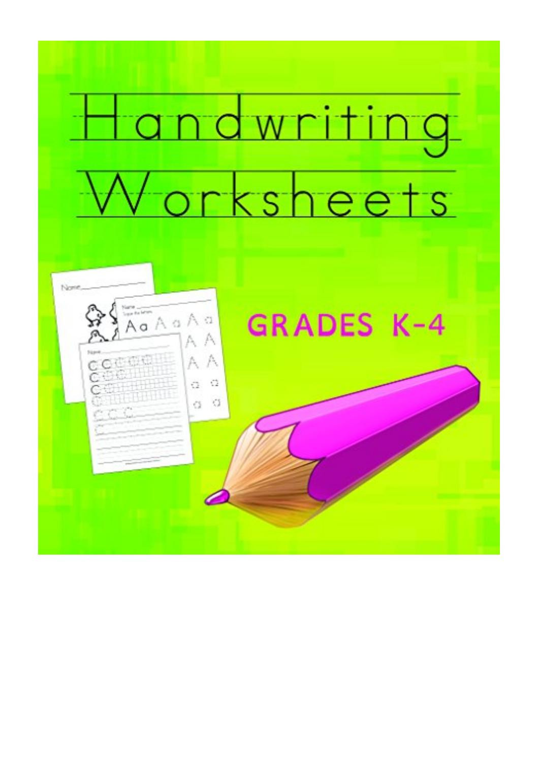 D Nealian Handwriting Worksheets Handwriting Worksheets Cd