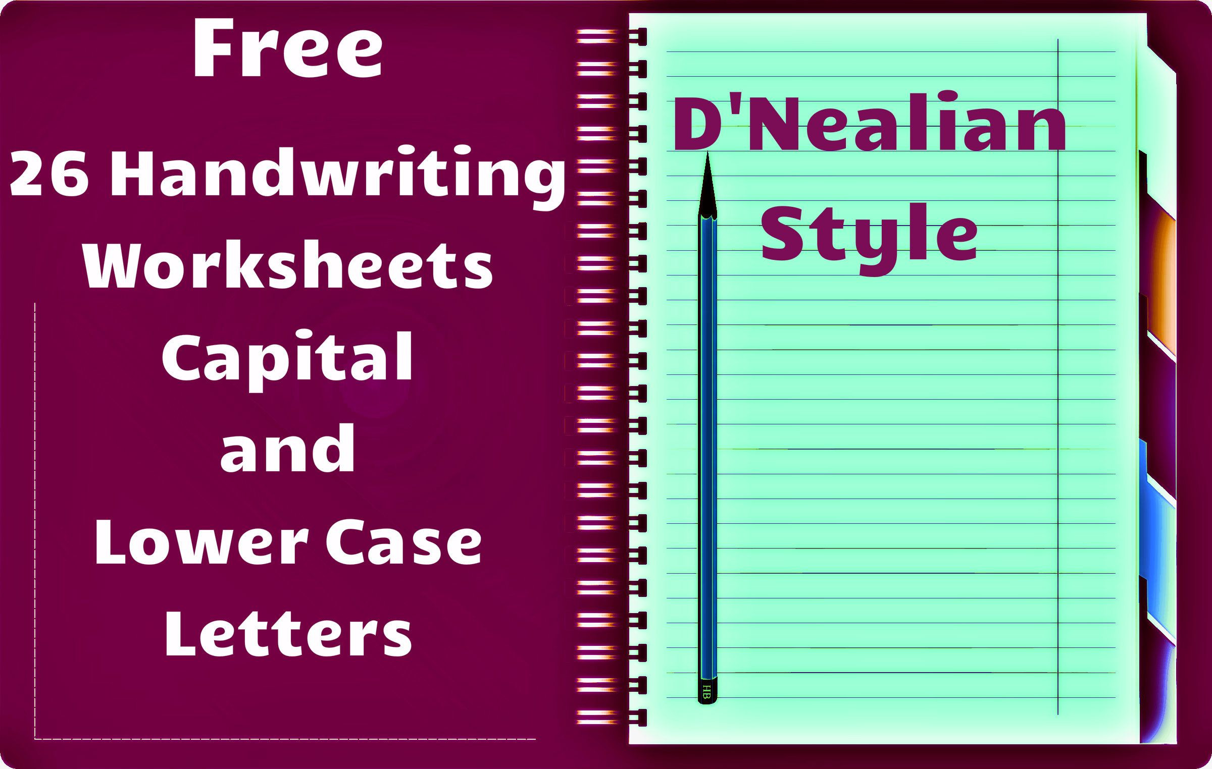 D Nealian Handwriting Worksheets Handwriting Worksheets D Nealian Style