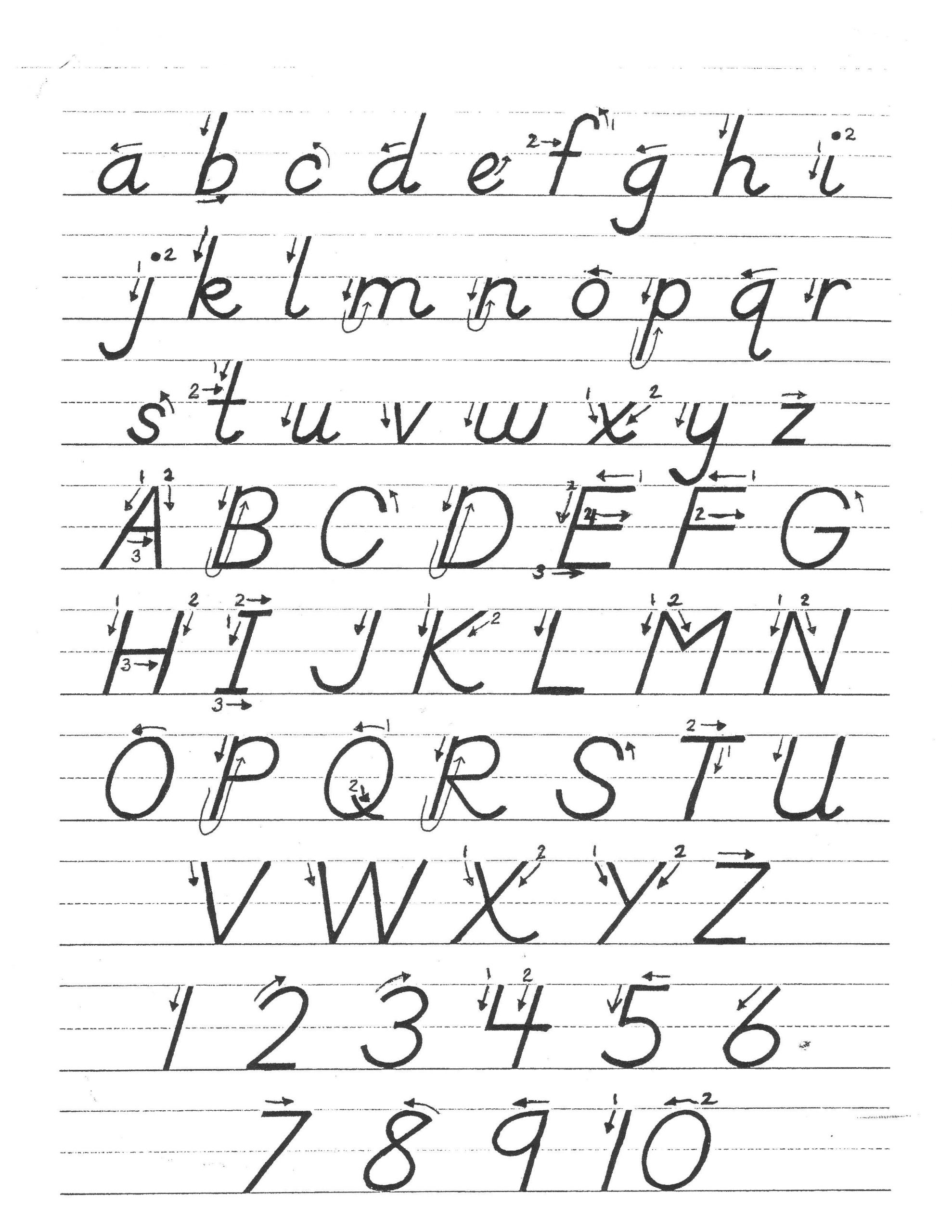 D Nealian Handwriting Worksheets Pin by Cody Daniel On Homeschool