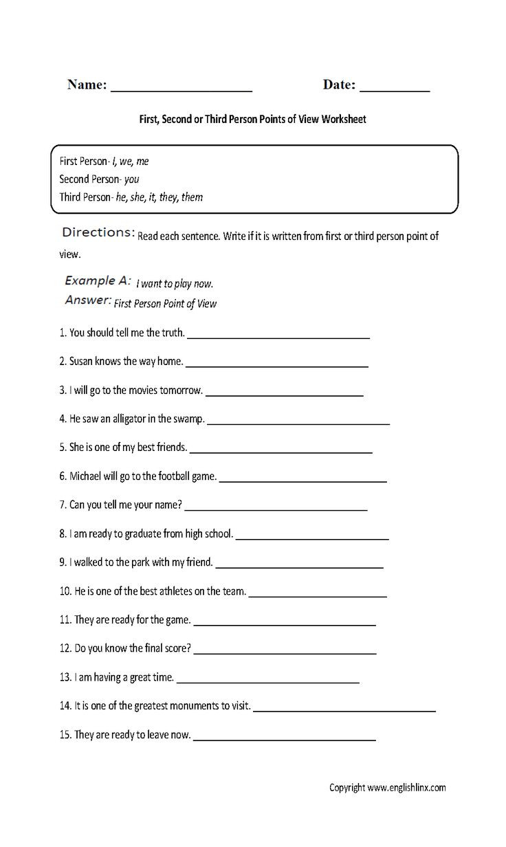Dialogue Worksheets 4th Grade Point View Lessons Tes Teach