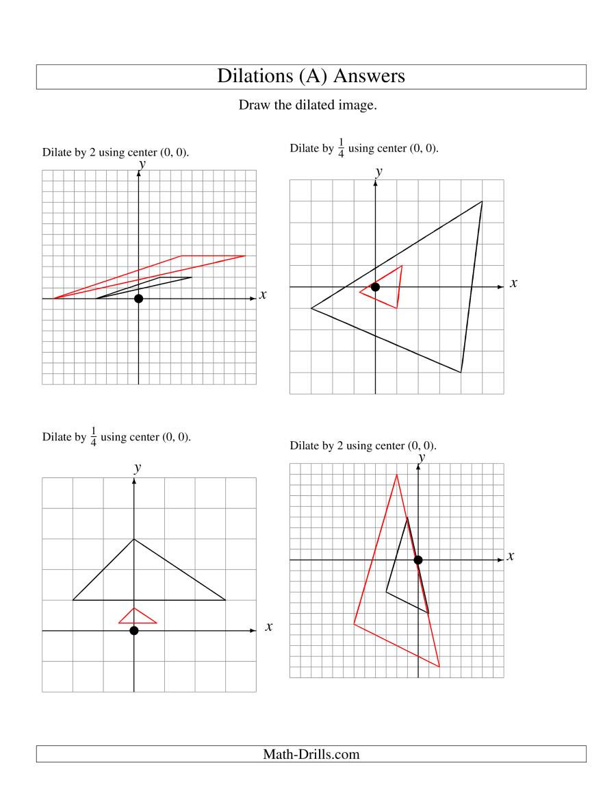 Dilations Worksheet 8th Grade Free Prob Articles Grade 2 Worksheets Dilations 8th Grade