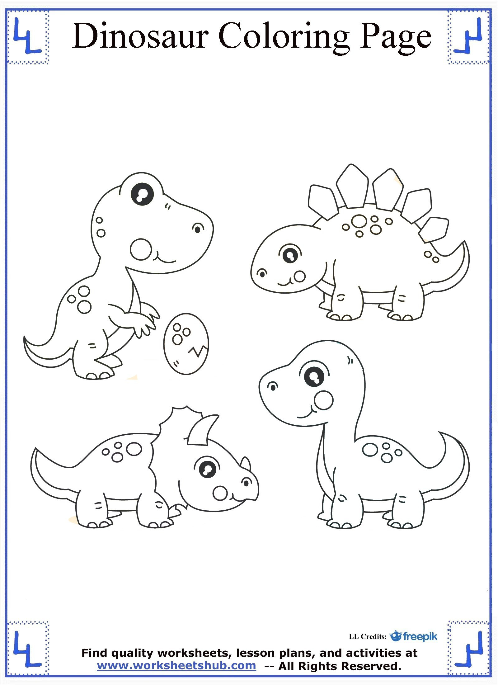 Dinosaur Worksheets for Preschoolers Dinosaur Color by Letter Preschool Worksheetsee Number