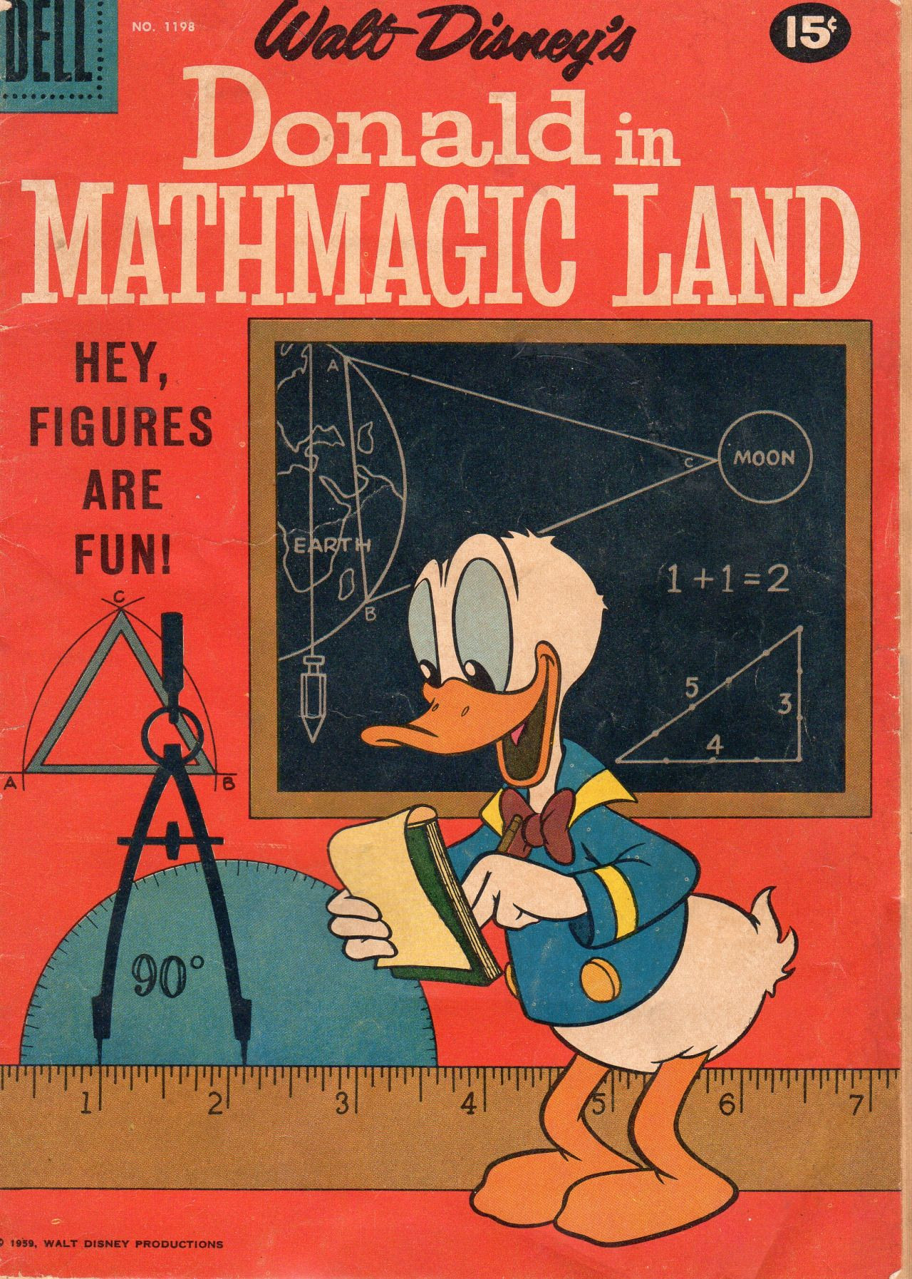 Donald In Mathmagic Land Worksheet Animationproclamations