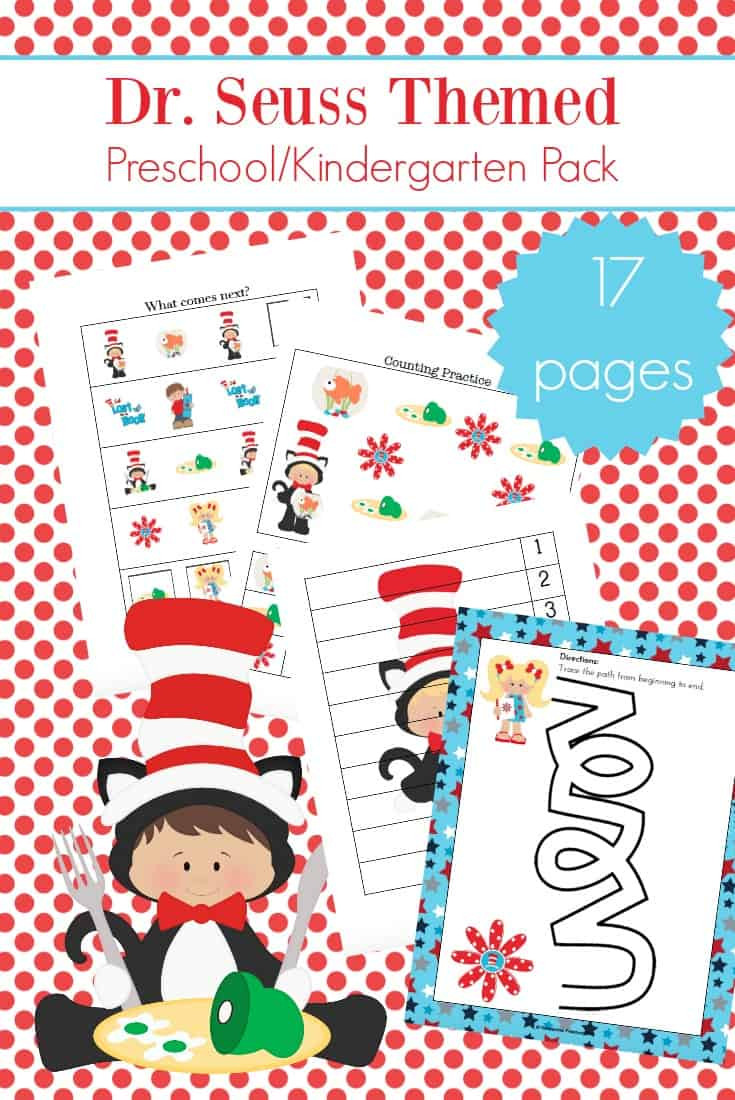 Dr Seuss Math Worksheets 30 Awesome Dr Seuss Preschool Worksheets to Engage Young