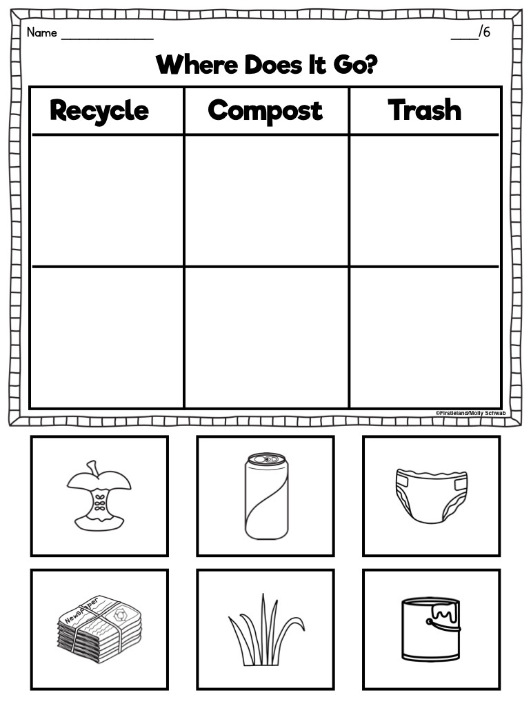 Earth Day Math Worksheets Earth Day Activities for First Grade Kids Firstieland