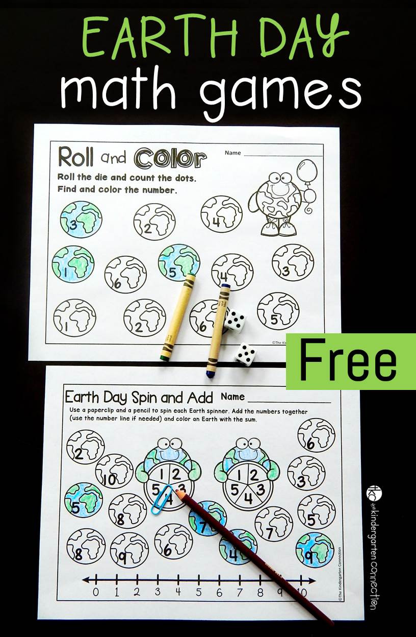 Earth Day Math Worksheets Free Printable Earth Day Math Games