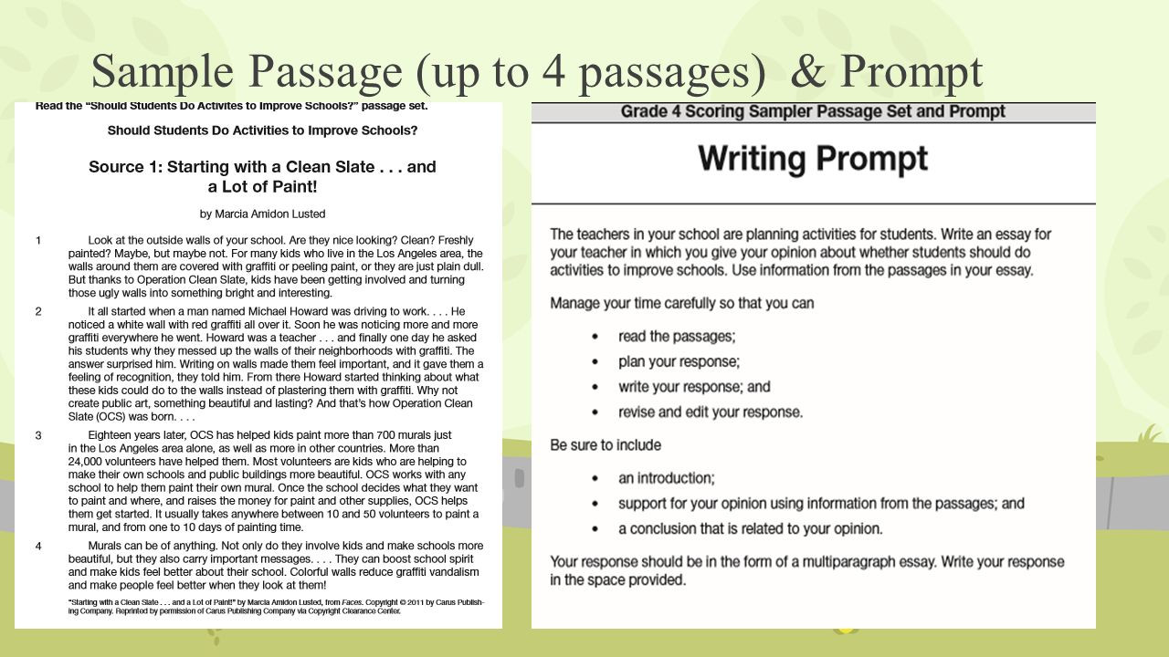 Editing Worksheets 4th Grade 4th Grade Essay Prompts