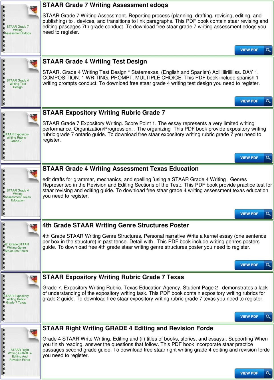 Editing Worksheets 4th Grade 4th Grade Staar Writing Practice Passages Pdf Free Download