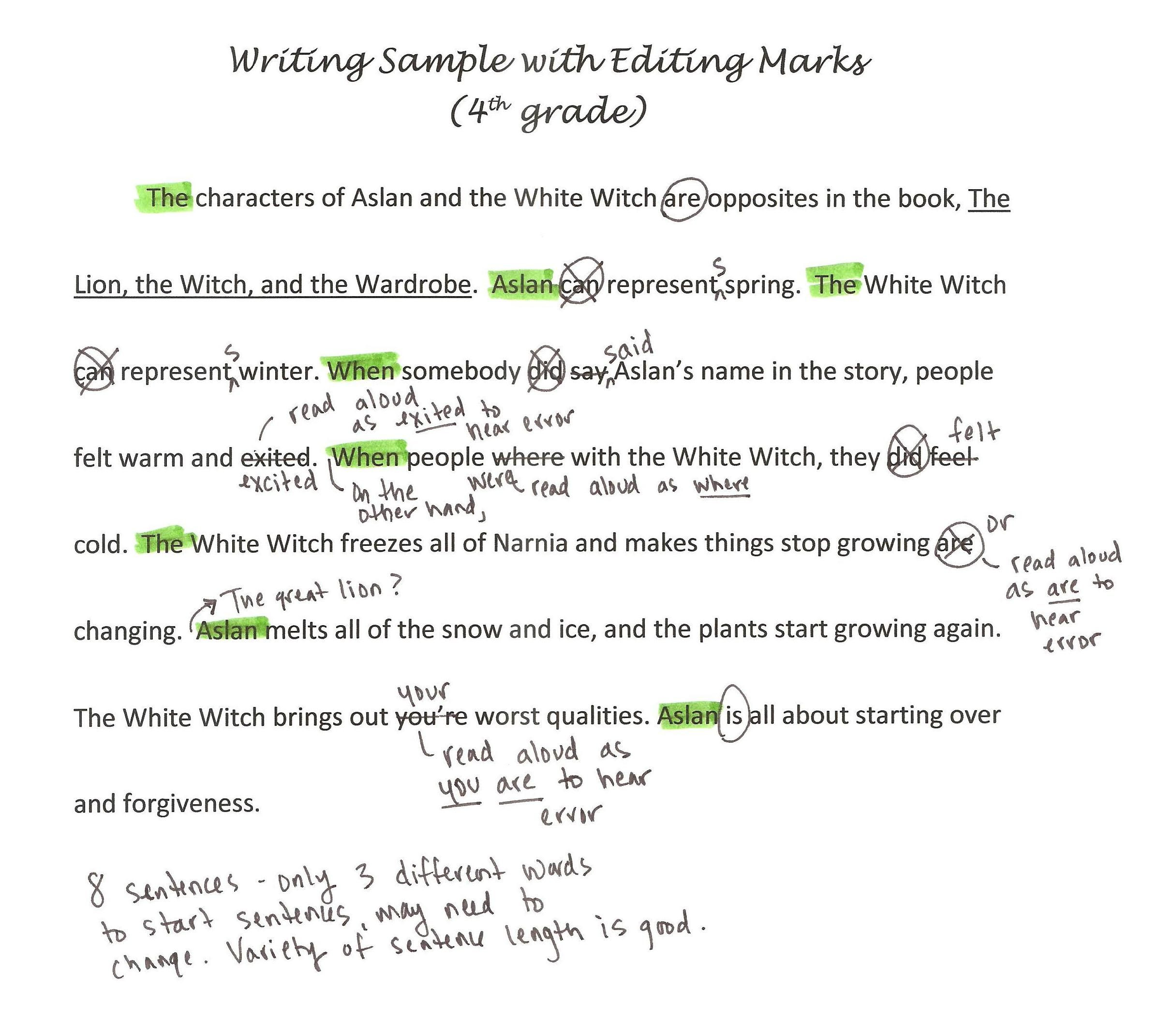 Editing Worksheets 4th Grade Effective Peer Editing
