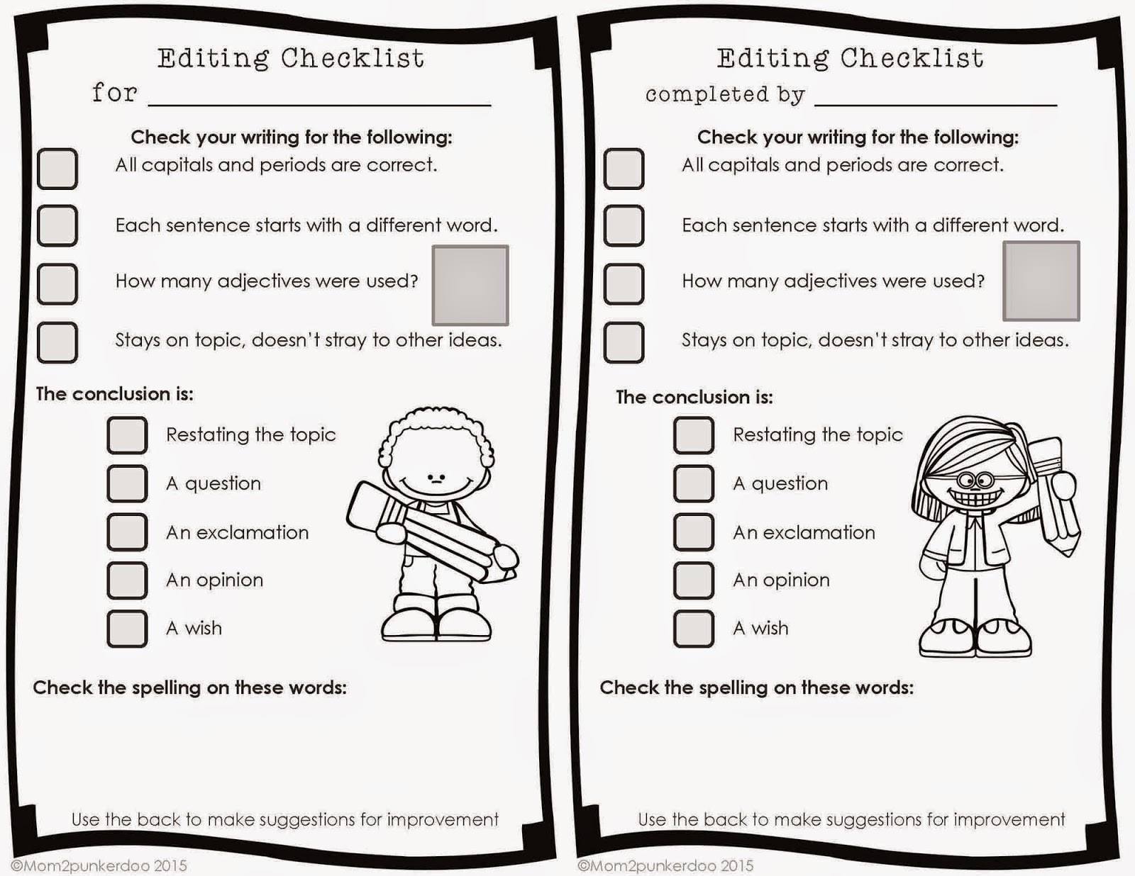 Editing Worksheets High School Printable Editing Worksheet