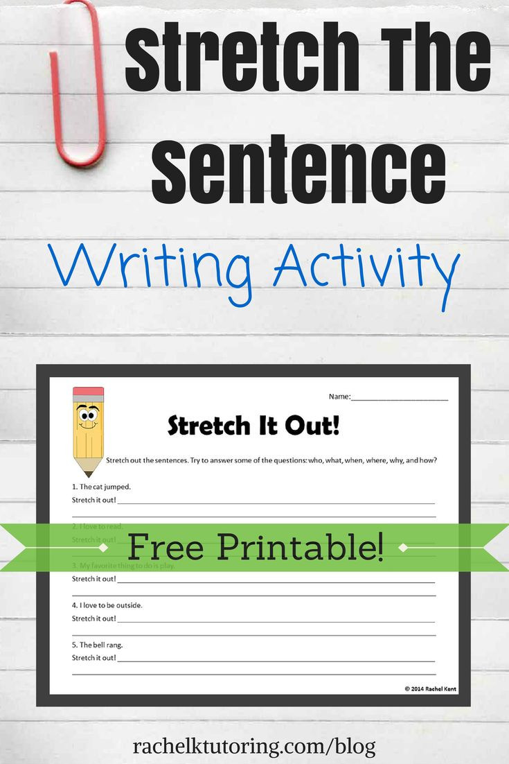Elaboration In Writing Worksheets 4th Grade Writing Worksheets & Free Printables