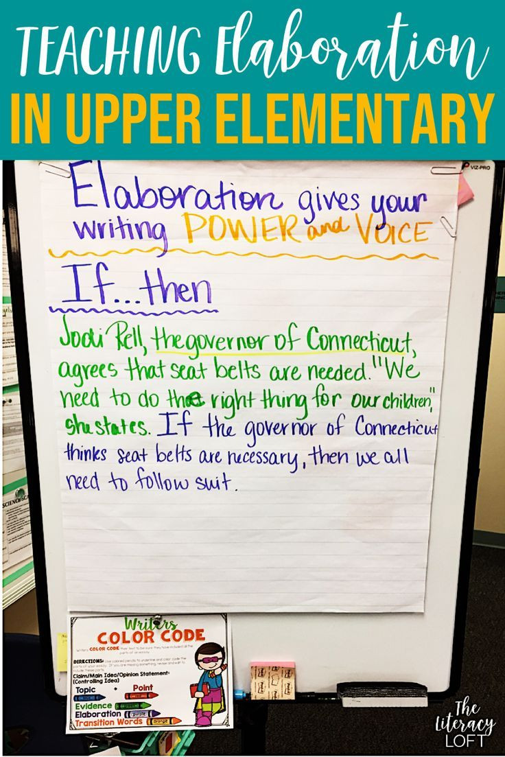 Elaboration In Writing Worksheets How to Teach Elaboration In Writing