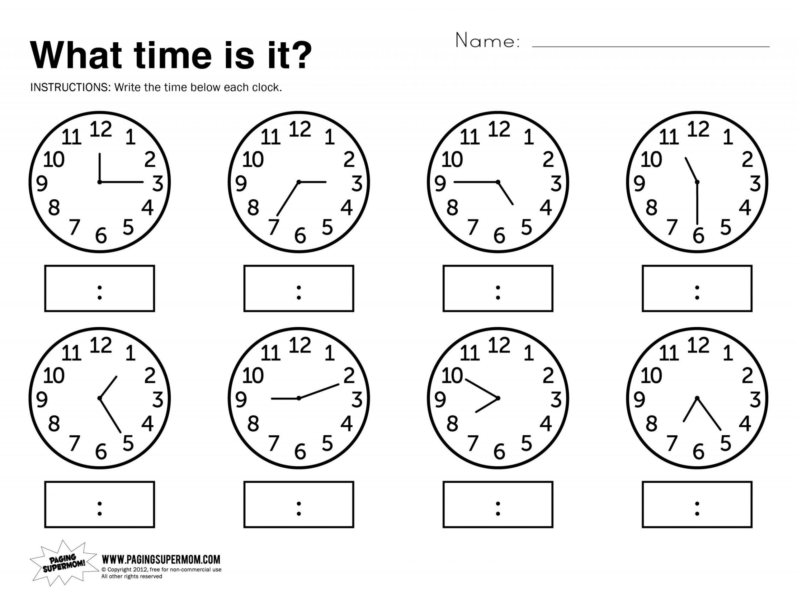 Elapsed Time Worksheets 3rd Grade Elapsed Time Worksheets with Answers