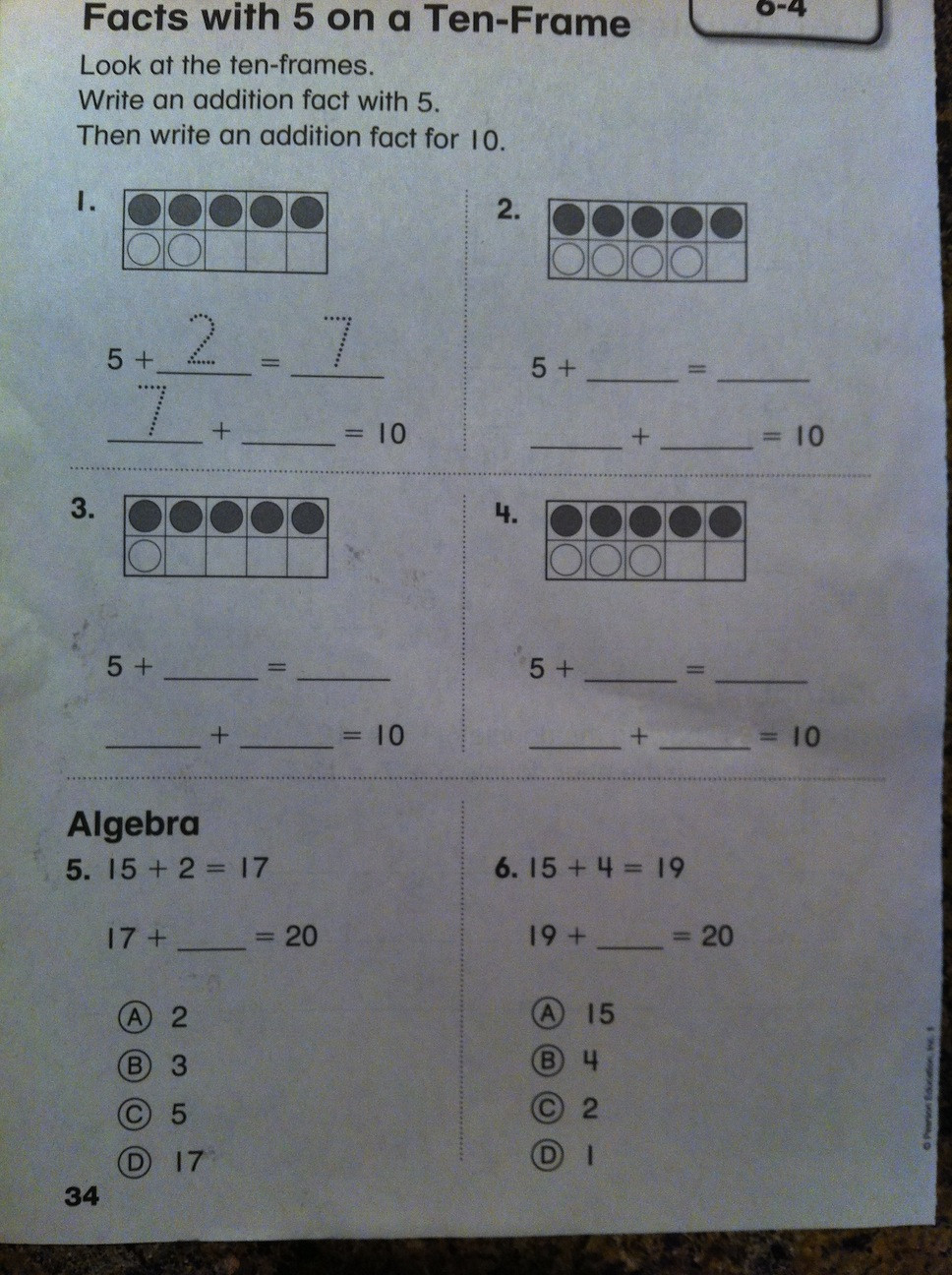 Envision Math 1st Grade Worksheets Mathematical Practices Free Math Worksheets for Grade 1