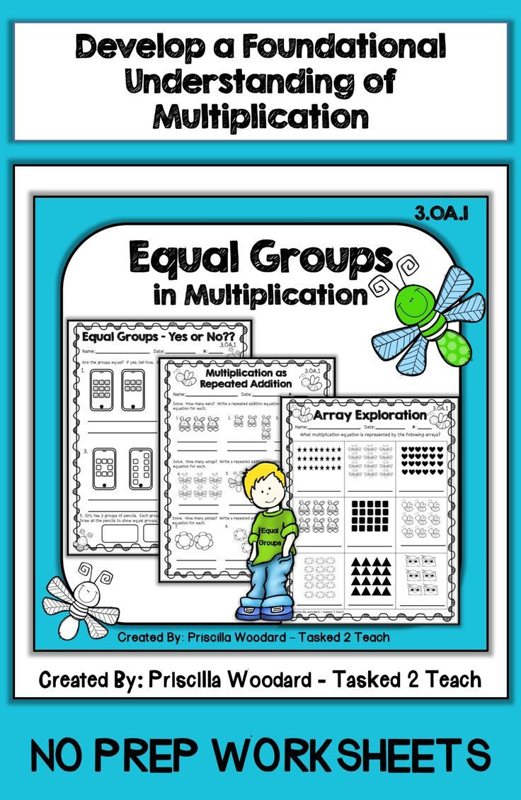 Equal Groups Worksheets 3rd Grade Equal Groups In Multiplication 3rd Grade