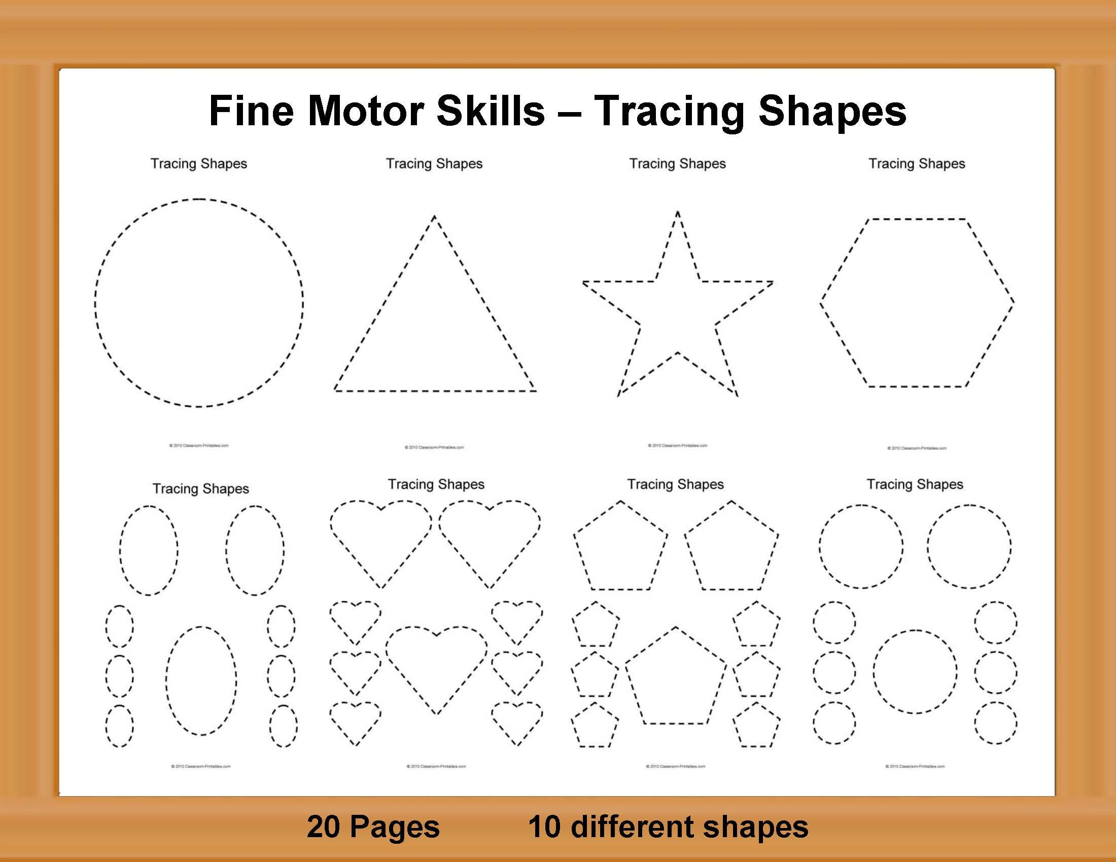 Fine Motor Skills Worksheets Kara Rice Printable Art Worksheets