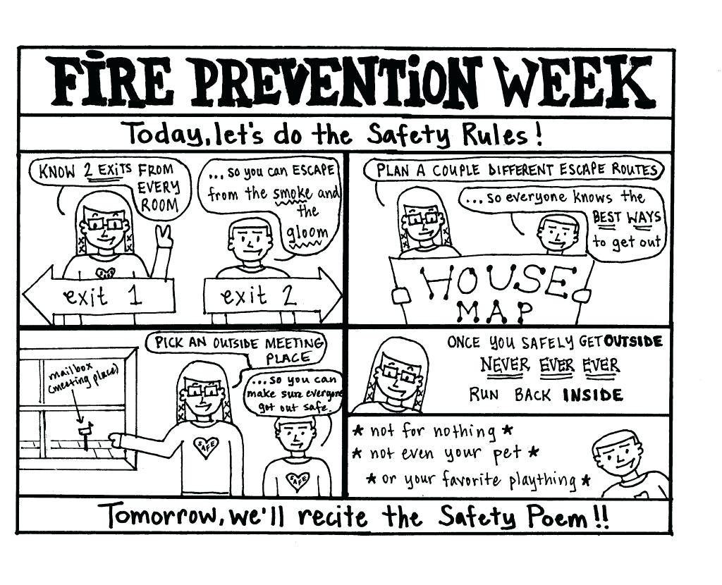 Fire Safety Worksheets Preschool Firefighter Preschool Printable – Besthomedesigns