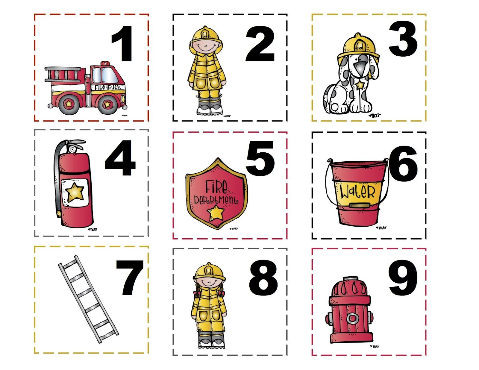 Fire Safety Worksheets Preschool Free Preschool Printables Fire Safety theme