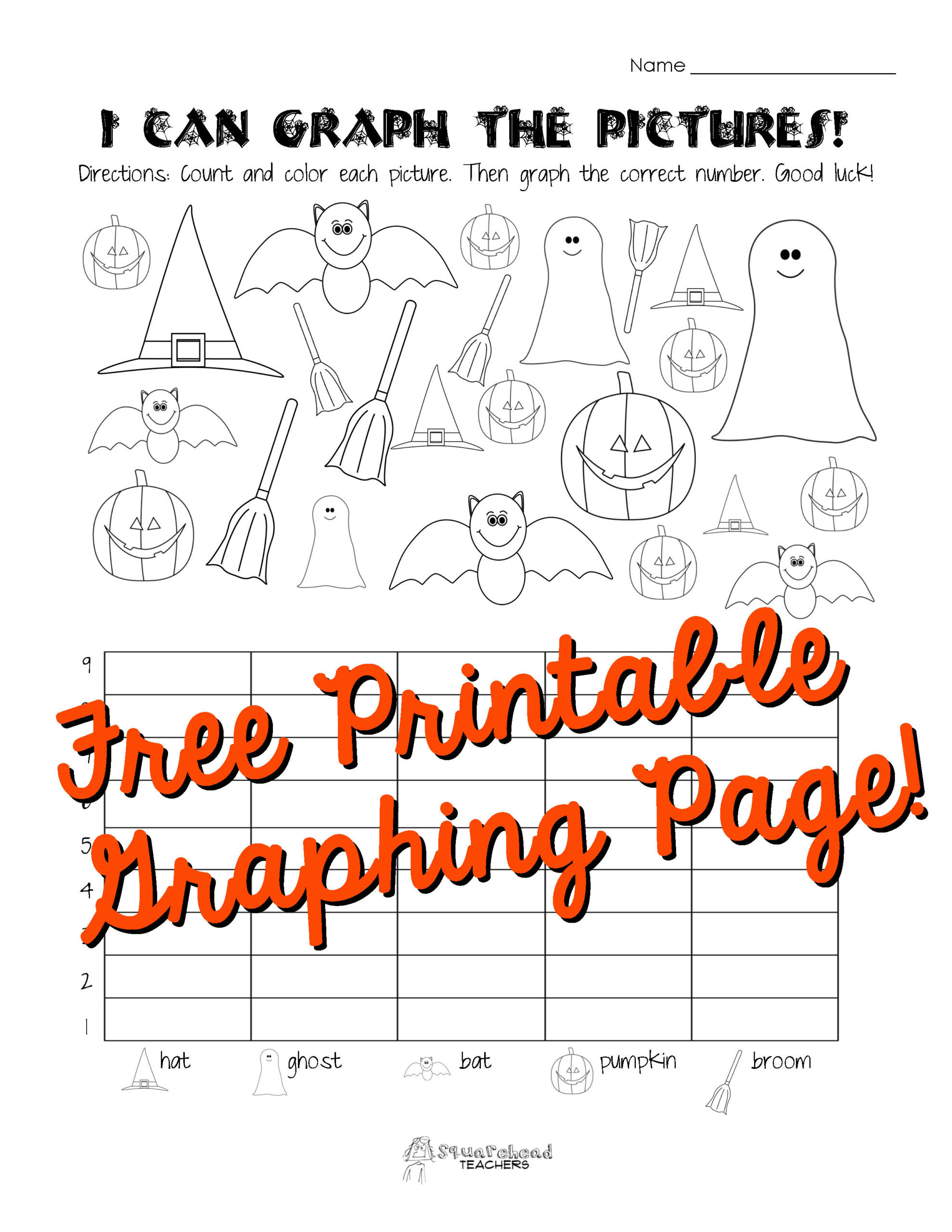 First Grade Graphing Worksheets Halloween Graphing Worksheets Middle School Worksheet Can