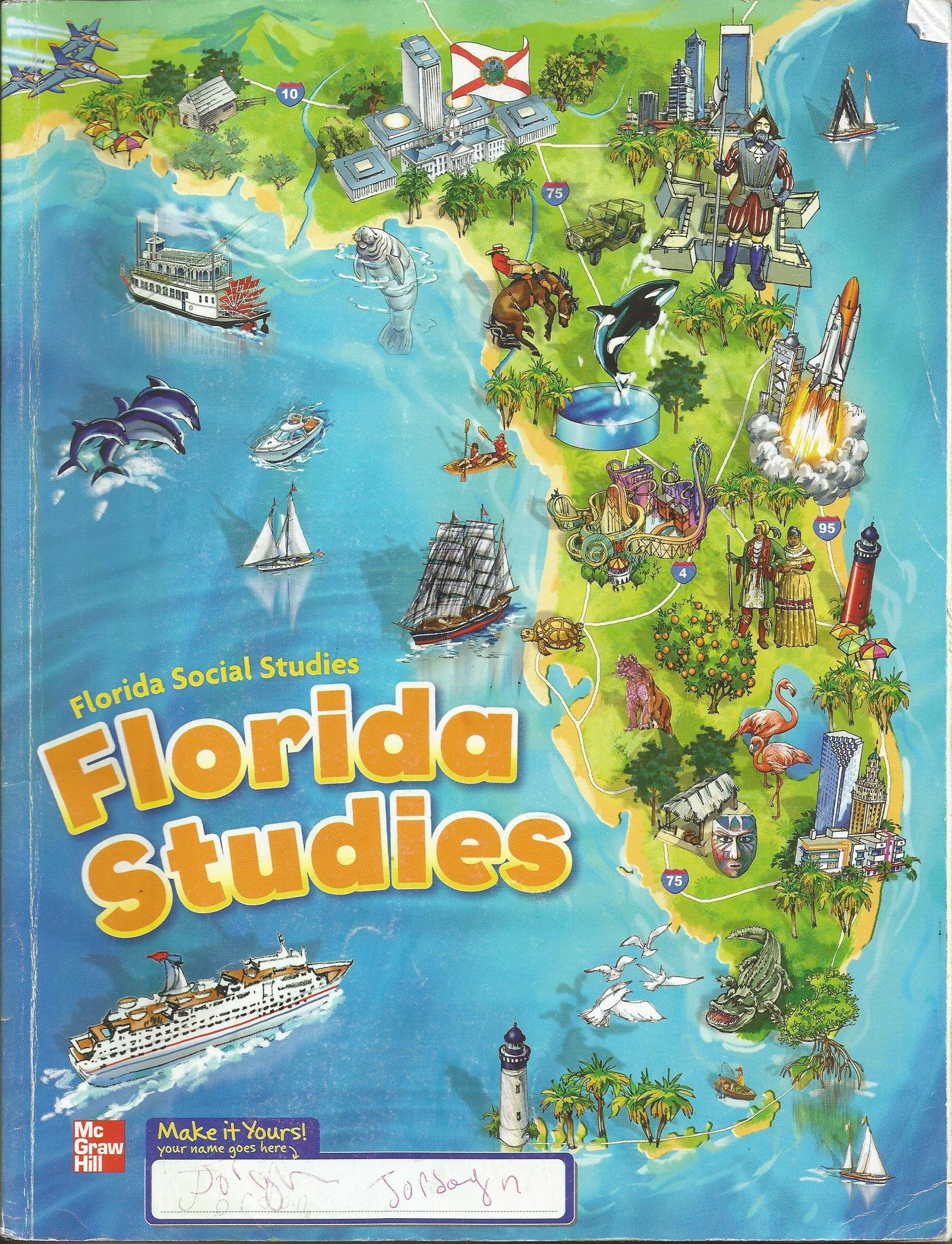 Florida History Worksheets 4th Grade Florida social Stu S 4 Amazon Books