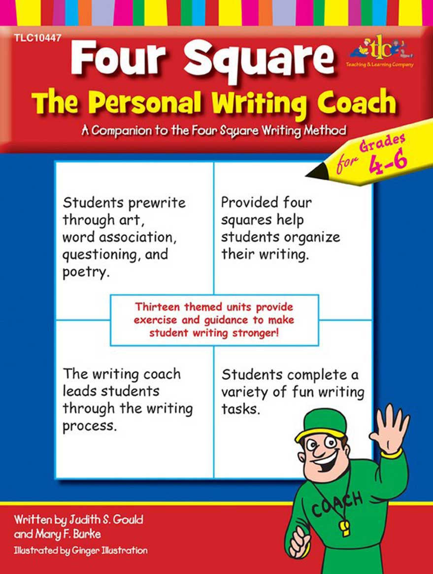 Four Square Writing Worksheets Four Square the Personal Writing Coach for Grades 4 6
