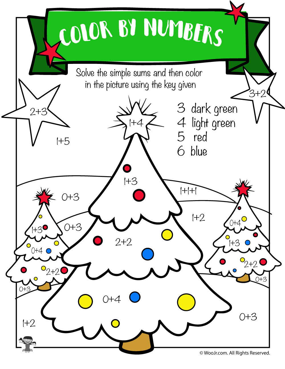 Free Christmas Math Worksheets Free Printable Christmas Math Worksheets Pre K 1st Grade
