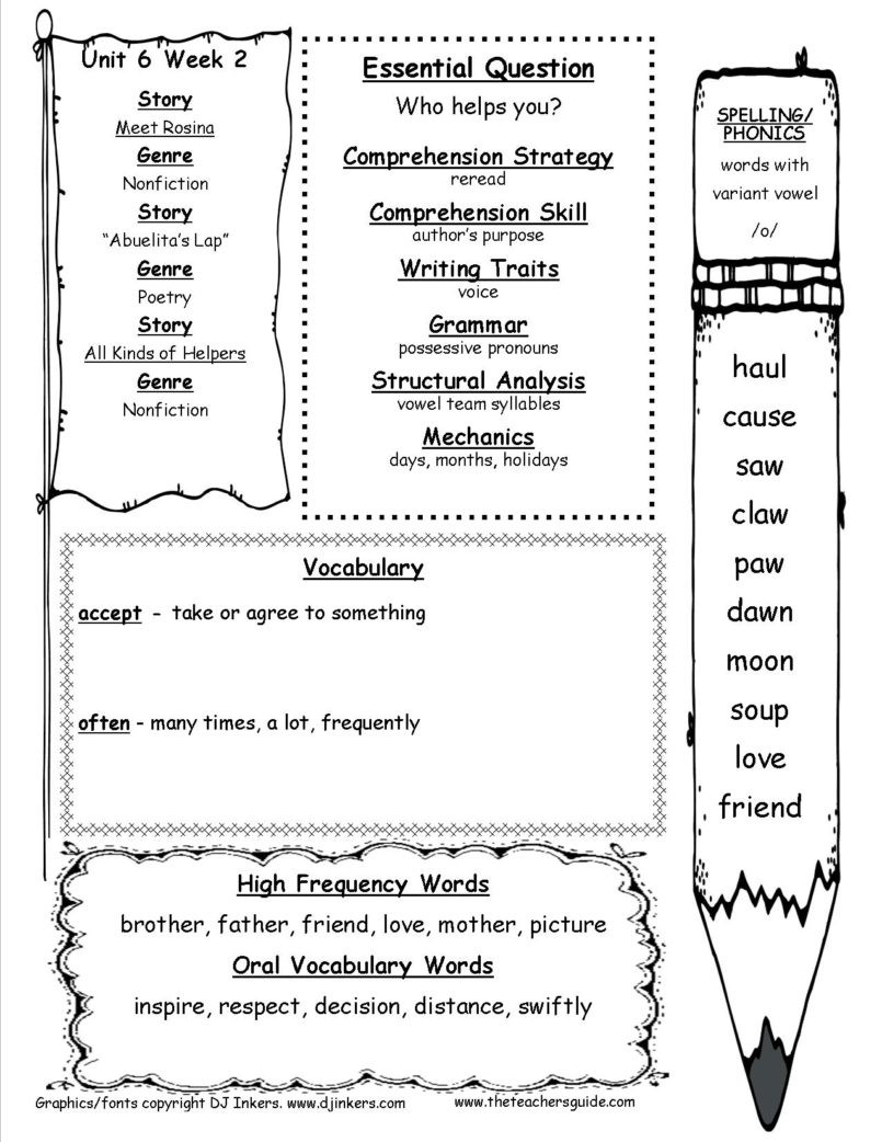 Free Life Skills Worksheets Worksheet Reading Prehension for 2nd Graders Worksheet