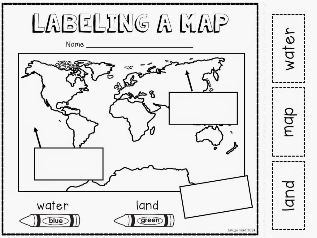 Free Map Skills Worksheets Worksheet Worksheetndergarten Skills Worksheets