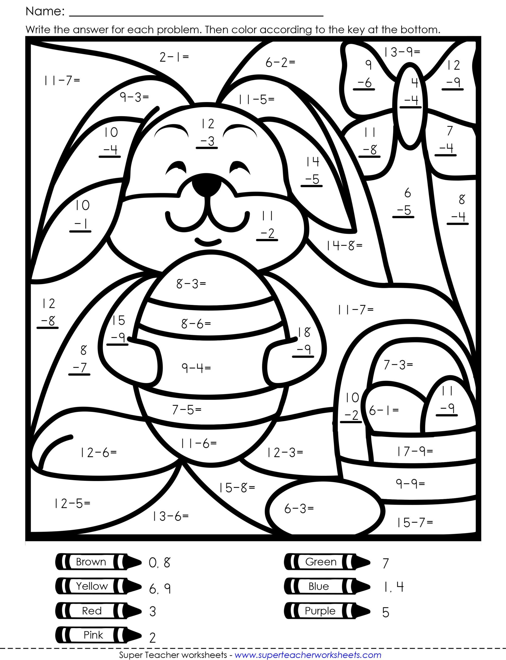Free Math Coloring Worksheets Coloring Math Worksheets Incredible Ideas Pages