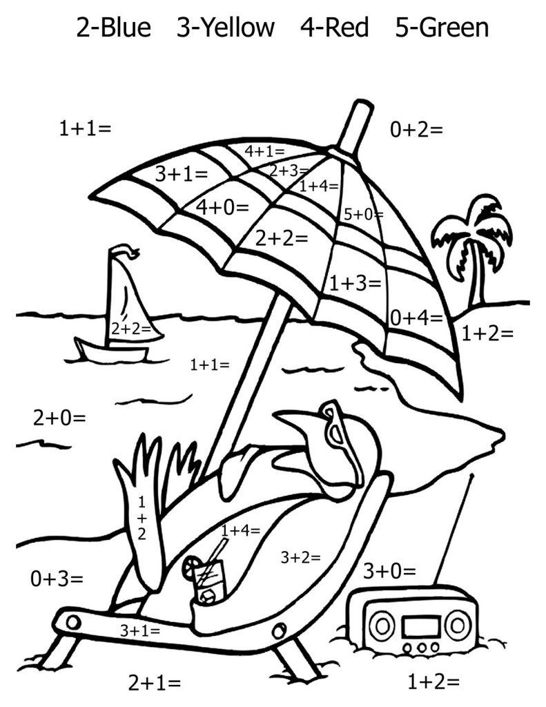 Free Math Coloring Worksheets Math Coloring Pages