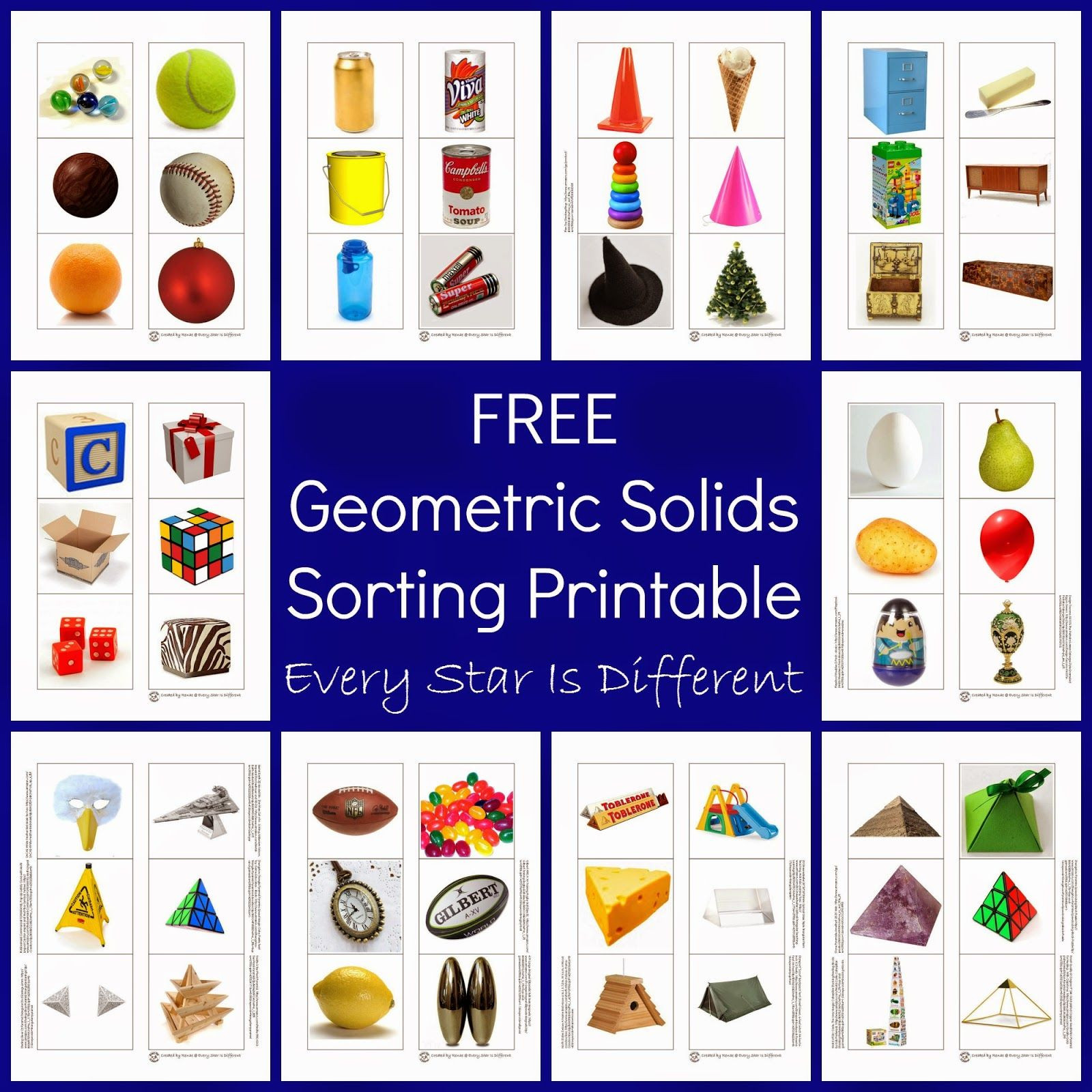 Free Printable 3d Shapes Worksheets 3 Dimensional Shapes Activities & Printables