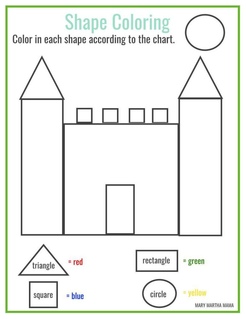 Free Printable 3d Shapes Worksheets Free Printable Worksheets for Kindergarten Shapes