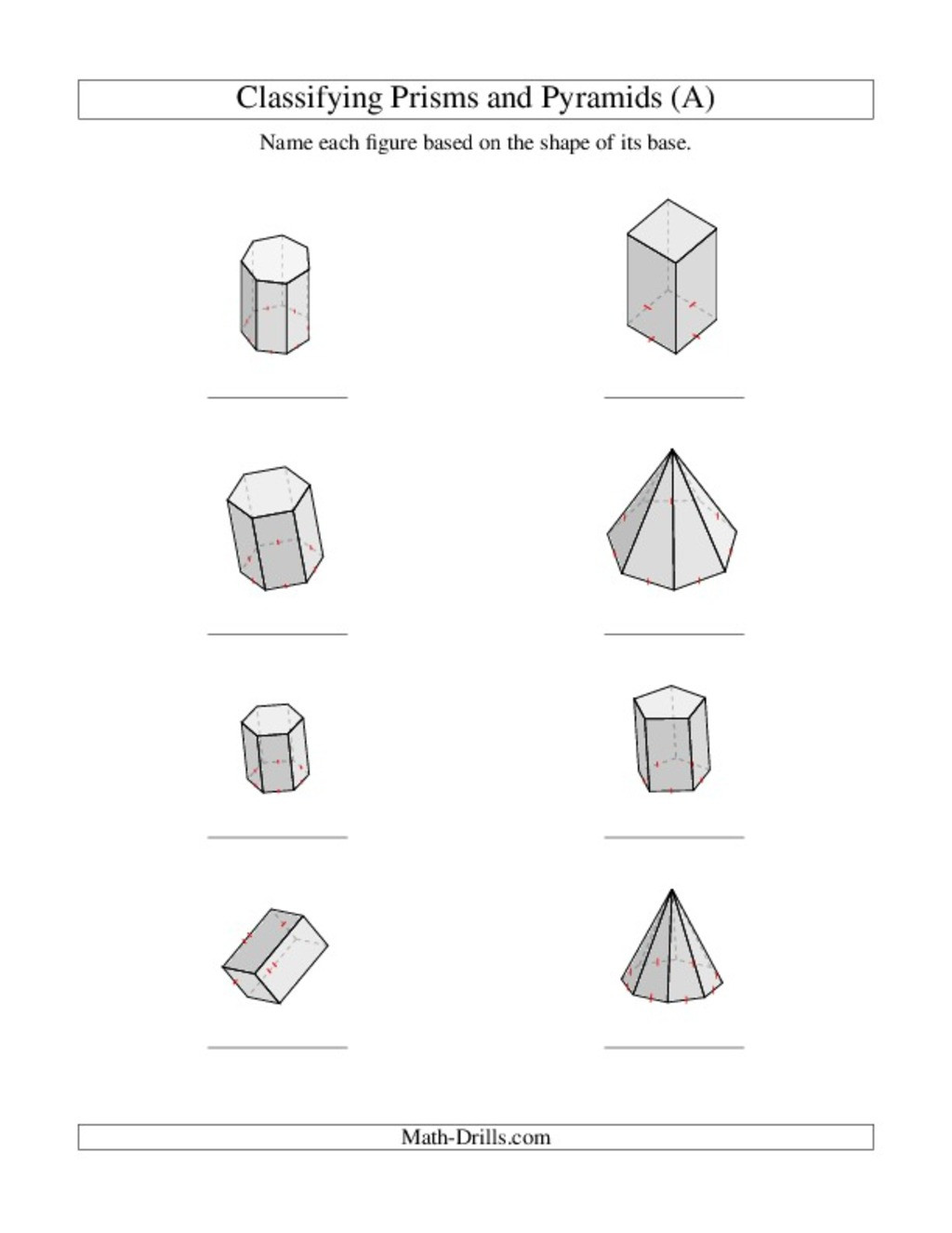 Free Printable 3d Shapes Worksheets Teaching 3d Shapes Lesson Plans & Worksheets Reviewed by