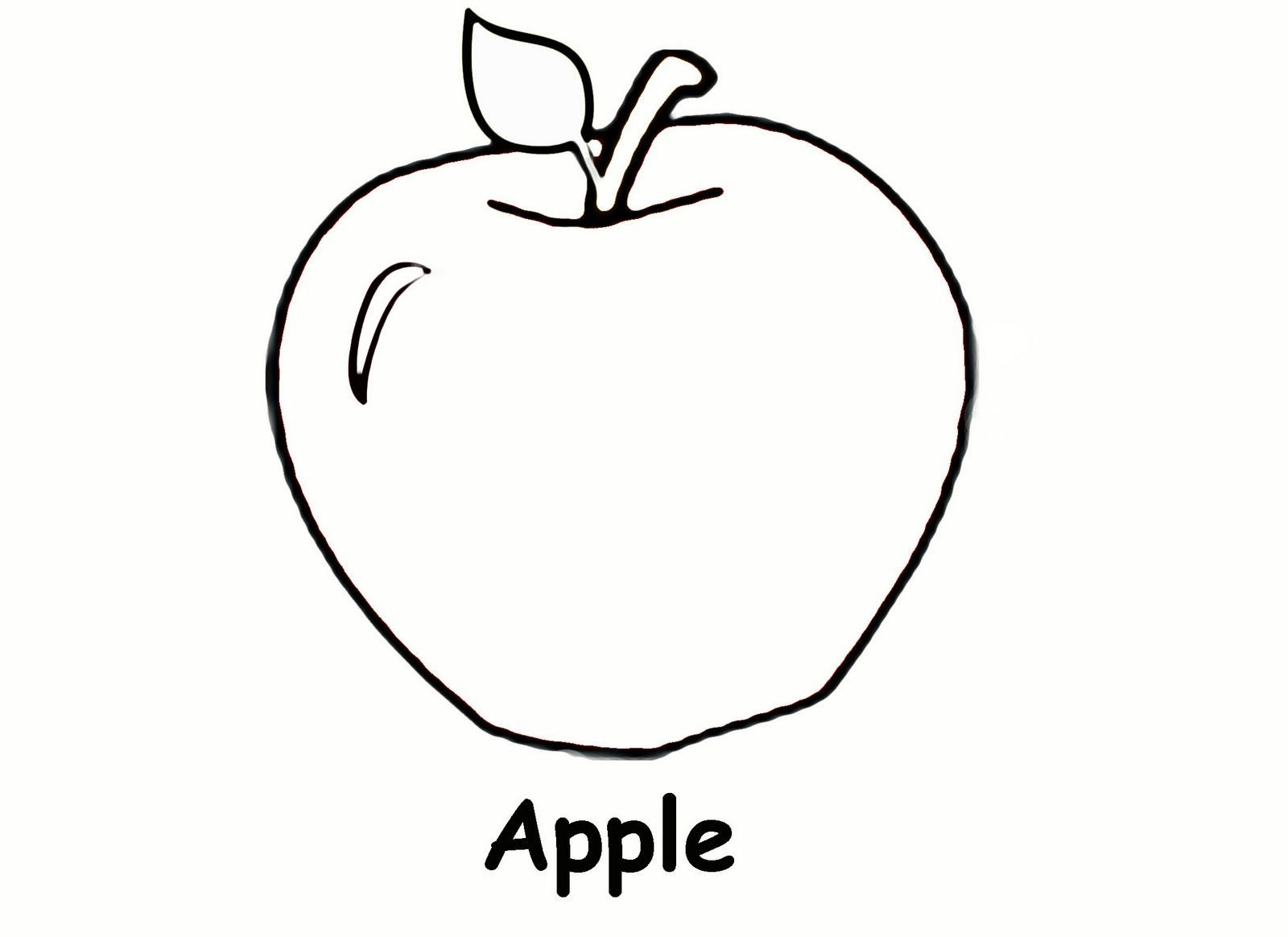 Free Printable Apple Worksheets Free Printable Apple Coloring Pages for Kids