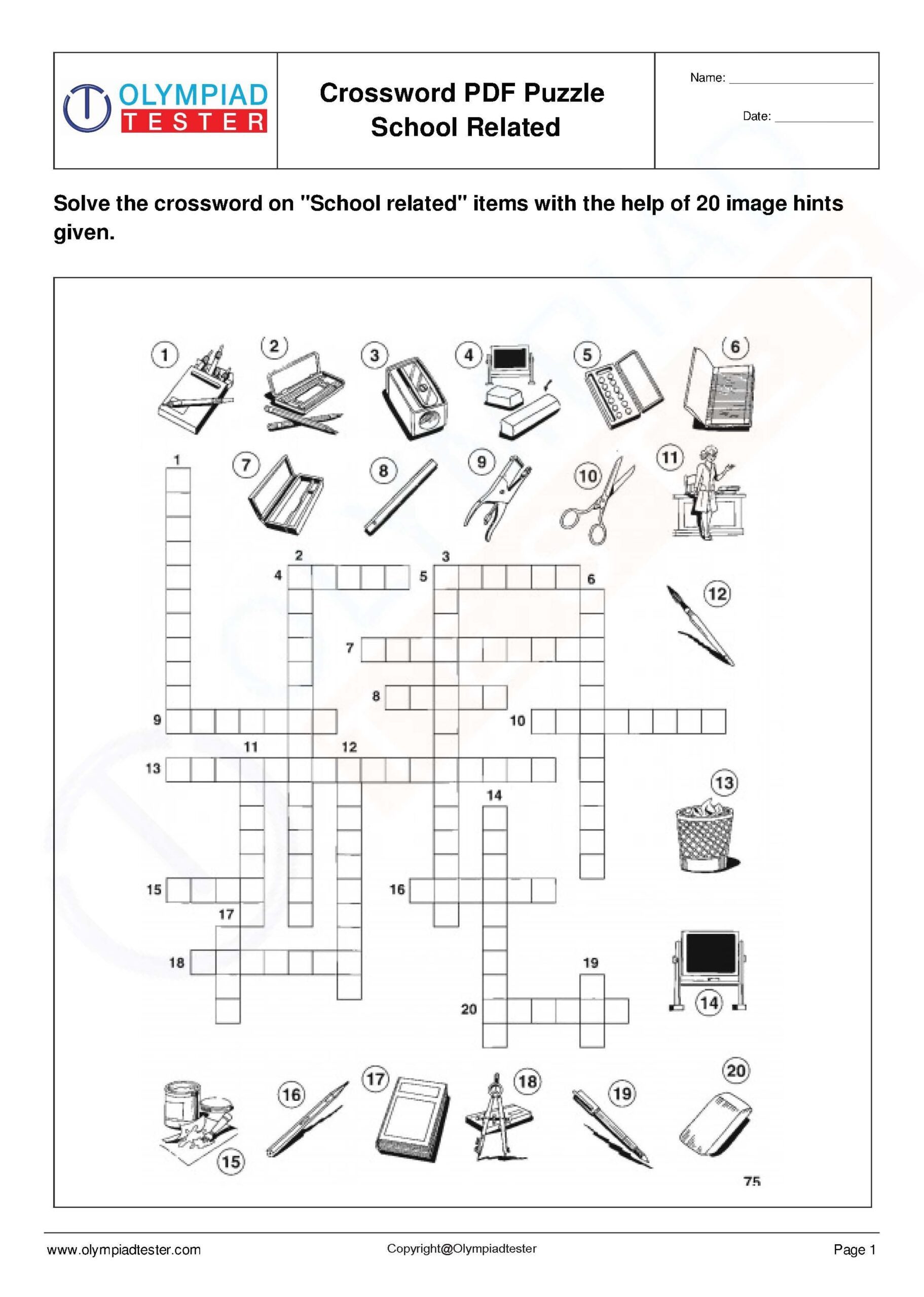 Free Printable Ecosystem Worksheets Space Science Worksheet Crossword Puzzles Printable