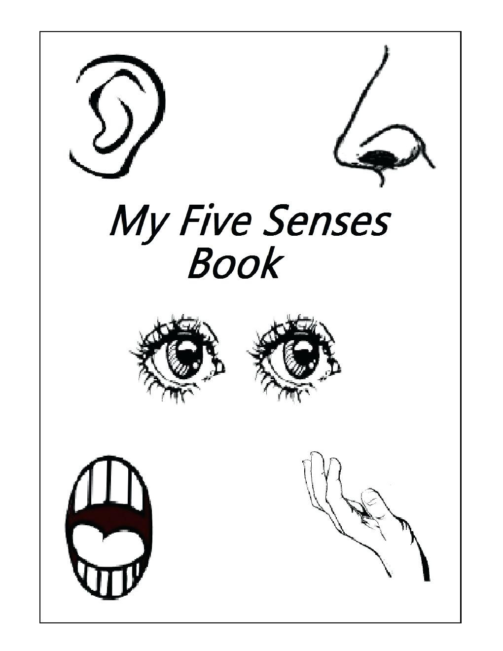 Free Printable Five Senses Worksheets Five Senses Activities for Kindergarten Best Sciencesheet