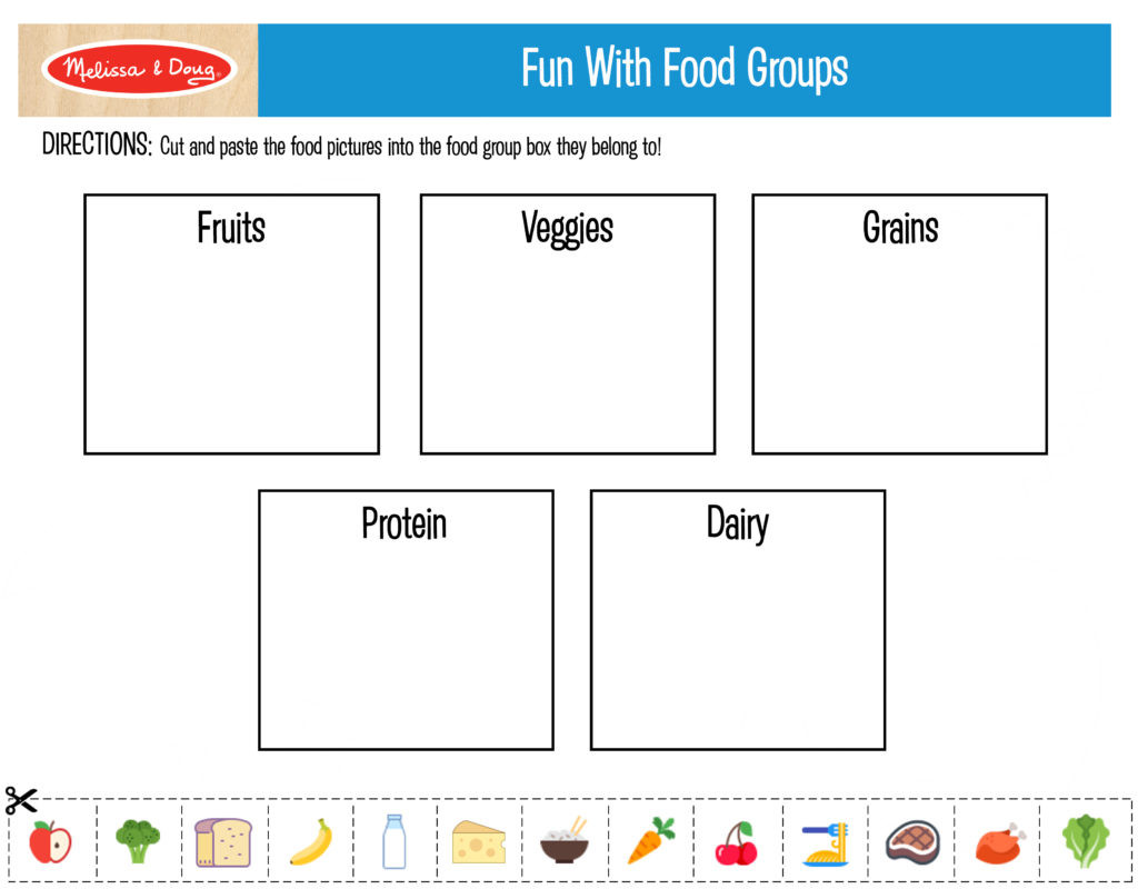Free Printable Health Worksheets 3 Free Printables for Kids Nutrition Activities