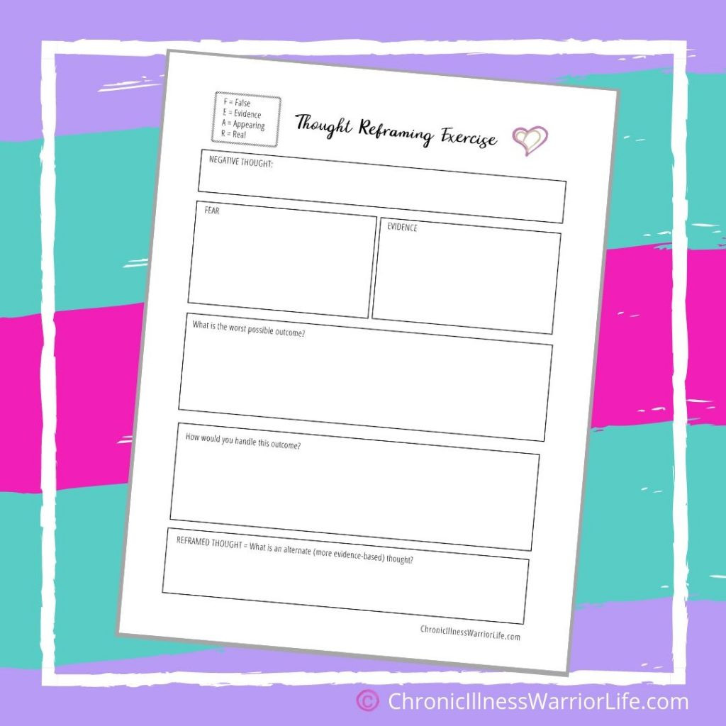 Free Printable Health Worksheets Free Printable Mental Health Worksheets Chronic Illness