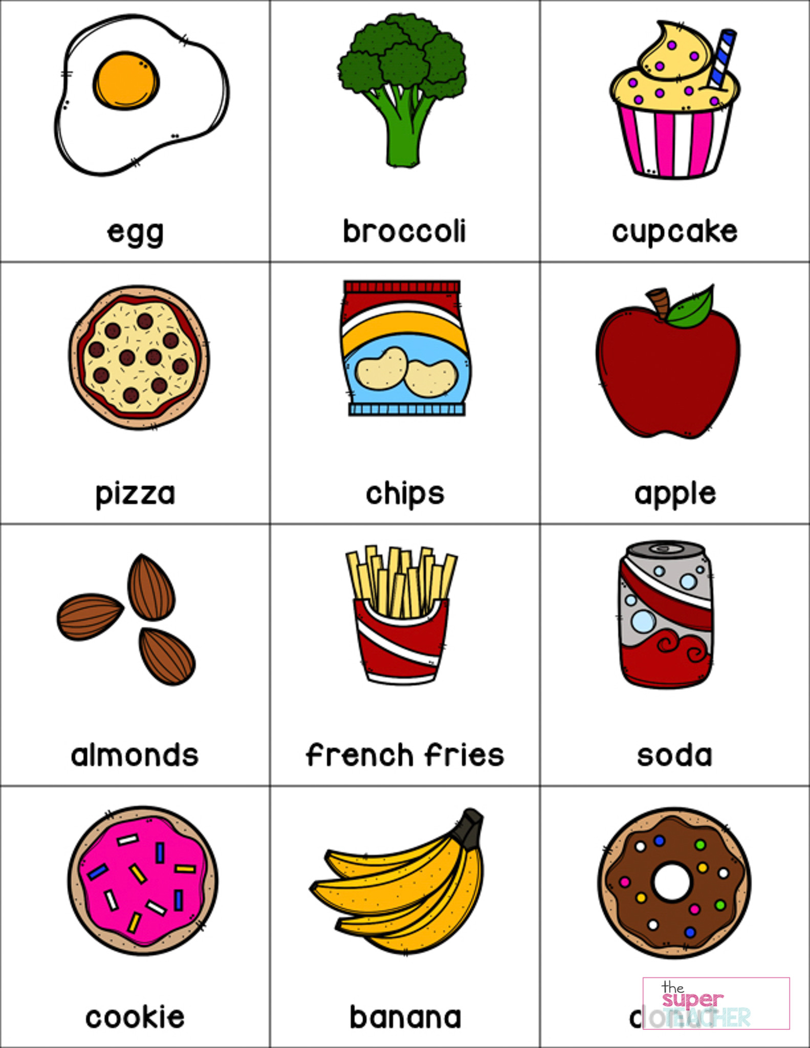Free Printable Health Worksheets Healthy Foods Worksheet [free Download] the Super Teacher