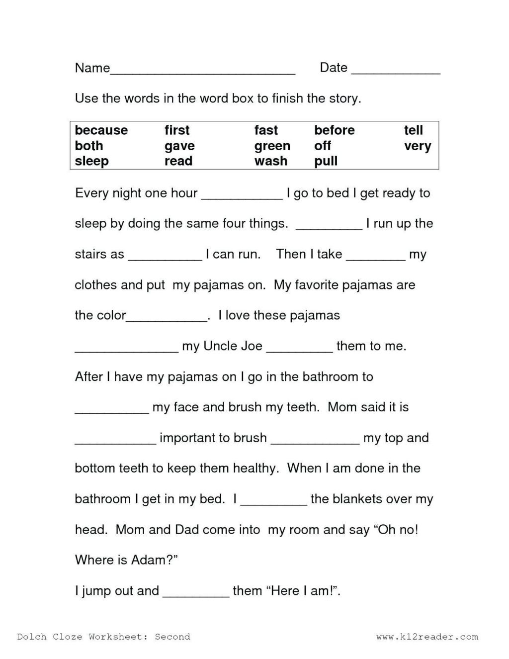 Free Printable Health Worksheets Worksheet Worksheet First Grade Math Prehension