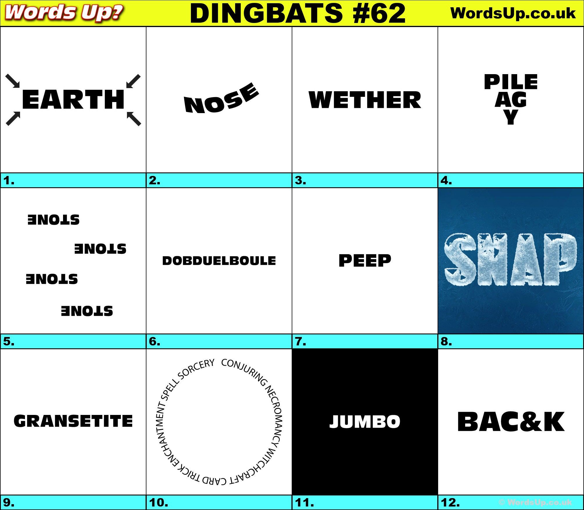 Free Printable Rebus Puzzles Dingbats & Whatzits Rebus Online and Printable Puzzles
