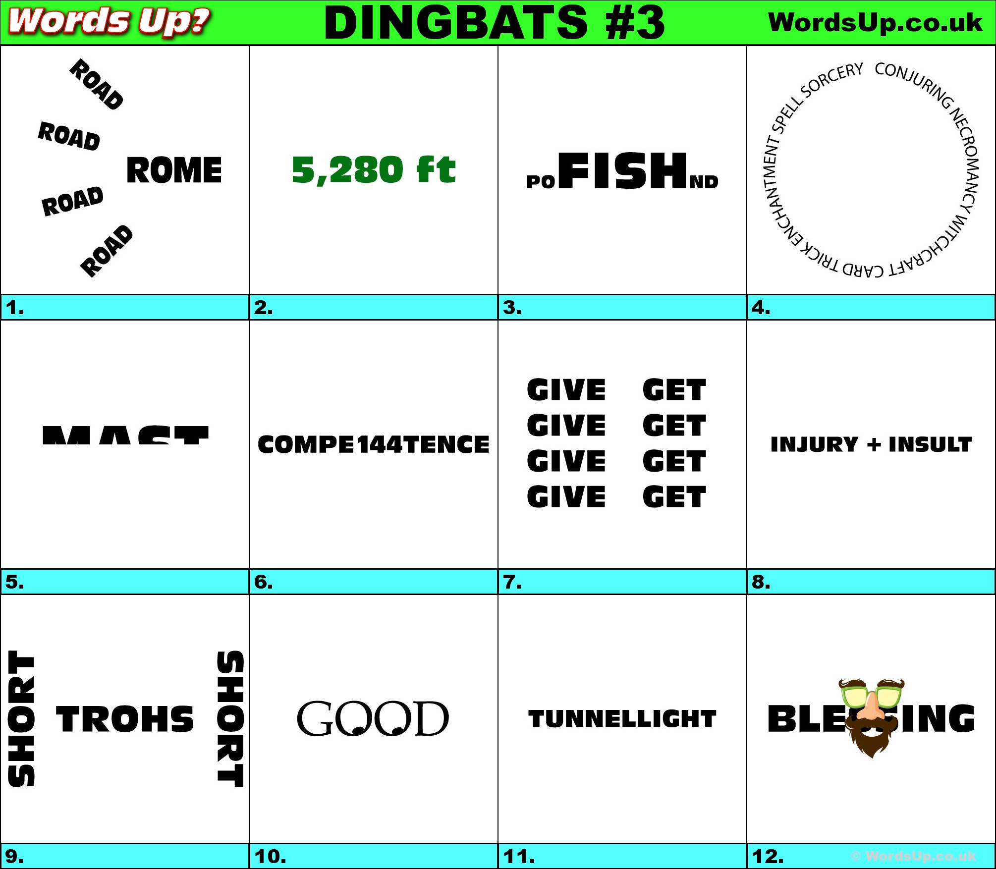 Free Printable Rebus Puzzles Words Up Dingbat Puzzles R3