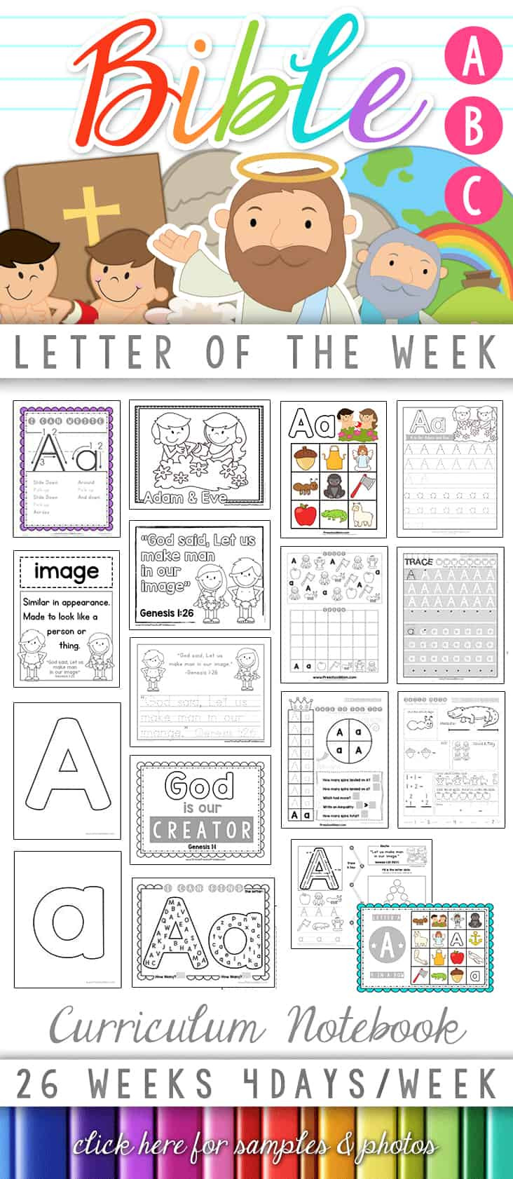 Free Printable Religious Worksheets Bible Abc Printables Christian Preschool Printables