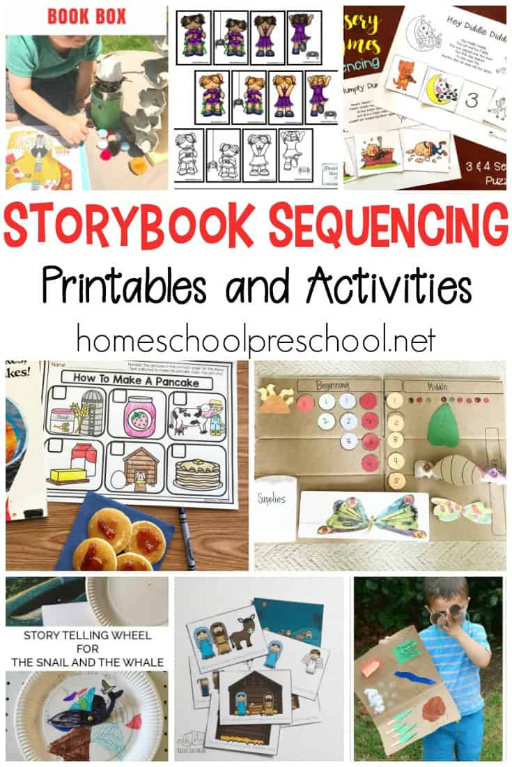Free Printable Story Sequencing Worksheets 10 Story Sequencing Cards Printable Activities for Preschoolers