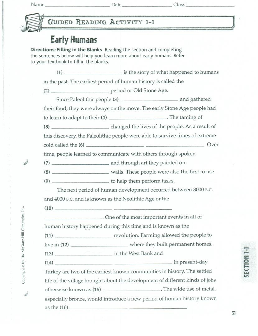 Geography Worksheets Middle School Geography Worksheet