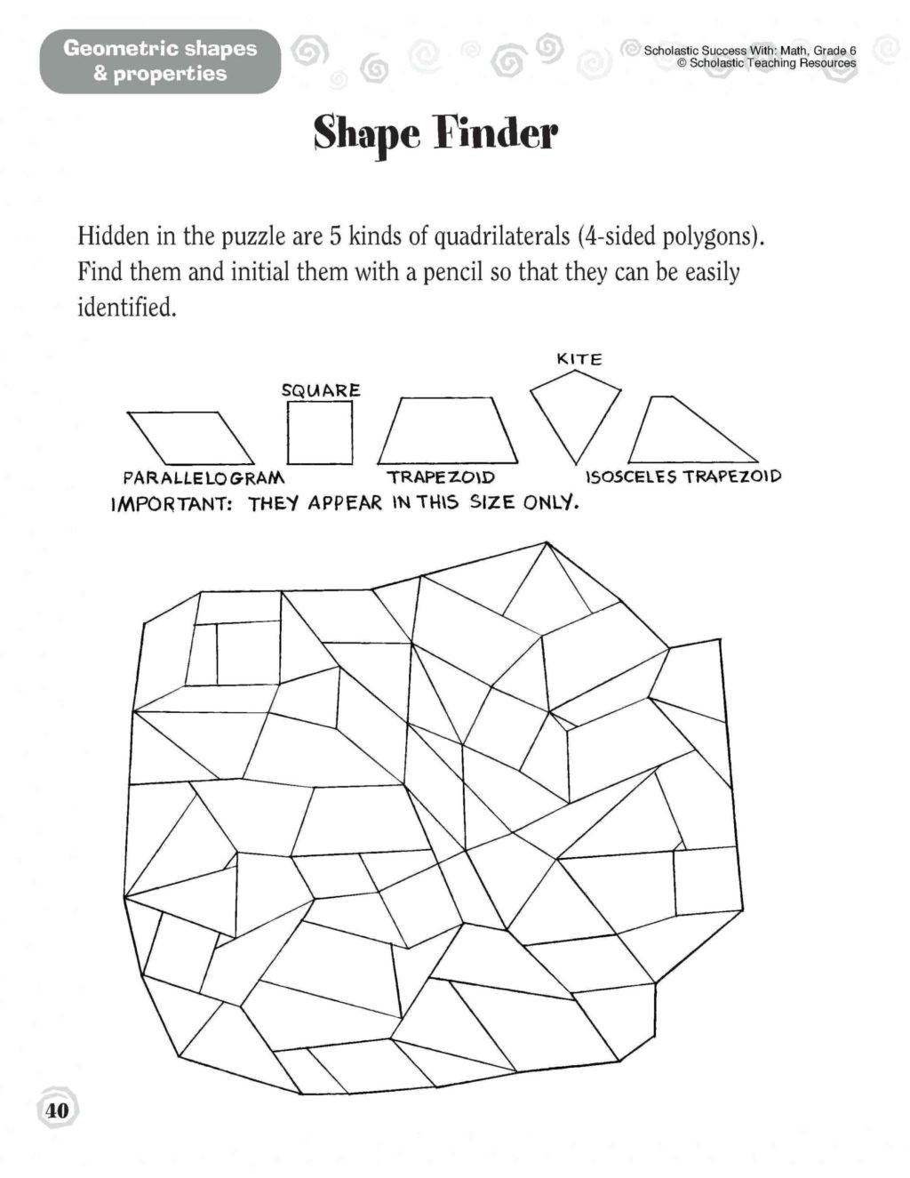 Geometric Shapes Worksheets 2nd Grade Worksheet 2nd Grade Geometry Worksheets Text Structure 4th